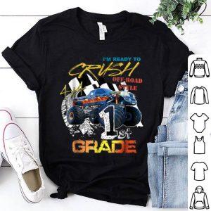 Monster Truck Boys - Back To School First Grade shirt