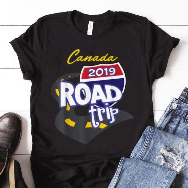 Nice Trend 2019 Canada Road Trip shirt