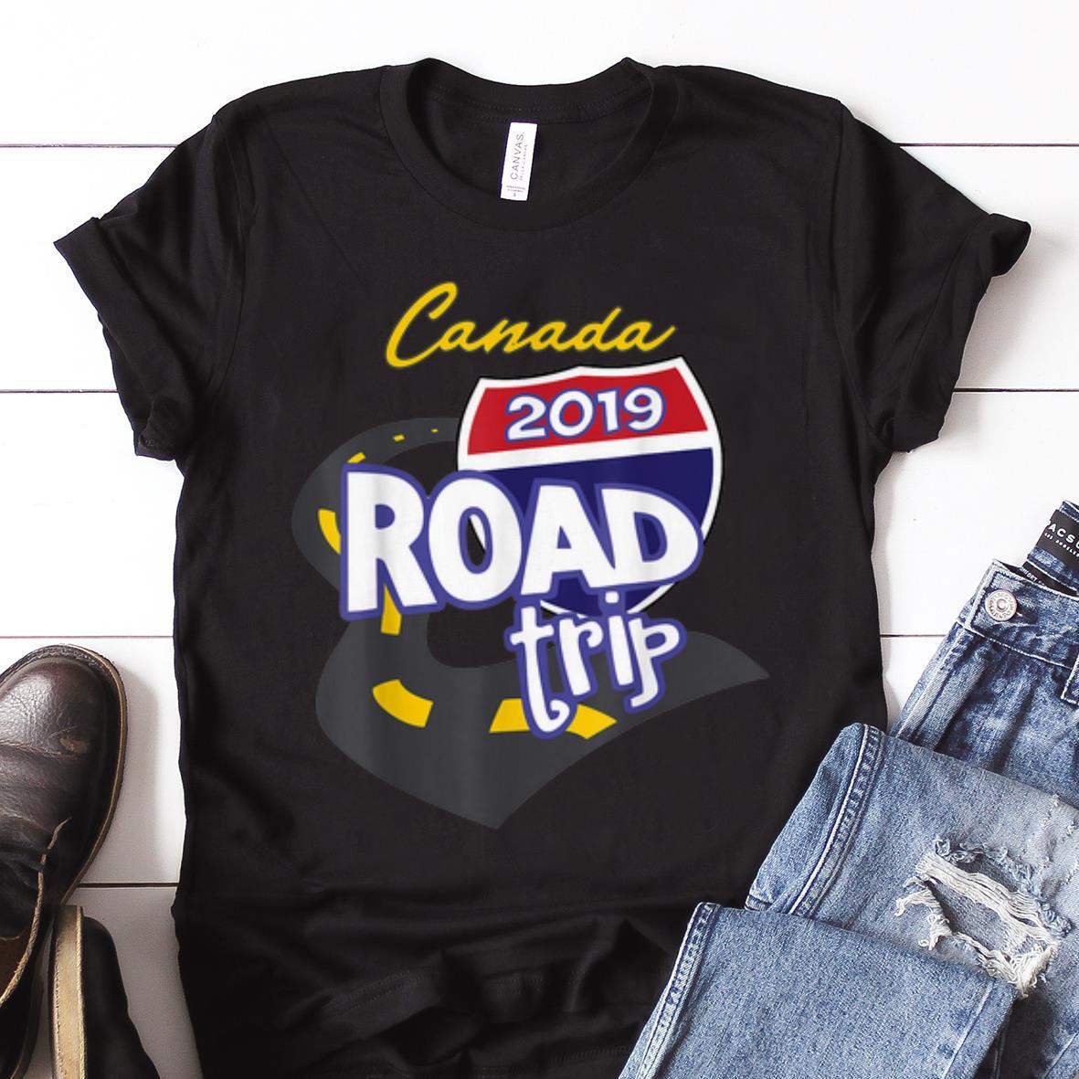 Nice Trend 2019 Canada Road Trip shirt 1 - Nice Trend 2019 Canada Road Trip shirt