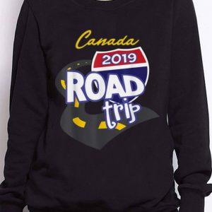 Nice Trend 2019 Canada Road Trip shirt 2