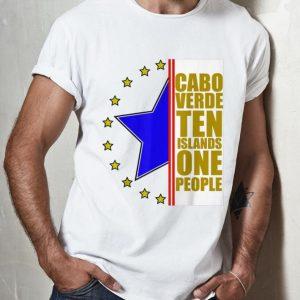 Original Cabo Verde Ten Island One People shirt