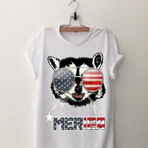 Racoon 4Th Of July Merica Usa American Flag shirt
