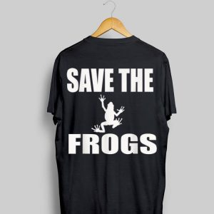 Save The Frogs shirt