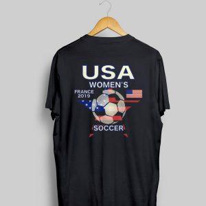 Star Usa Women's France 2019 Soccer shirt