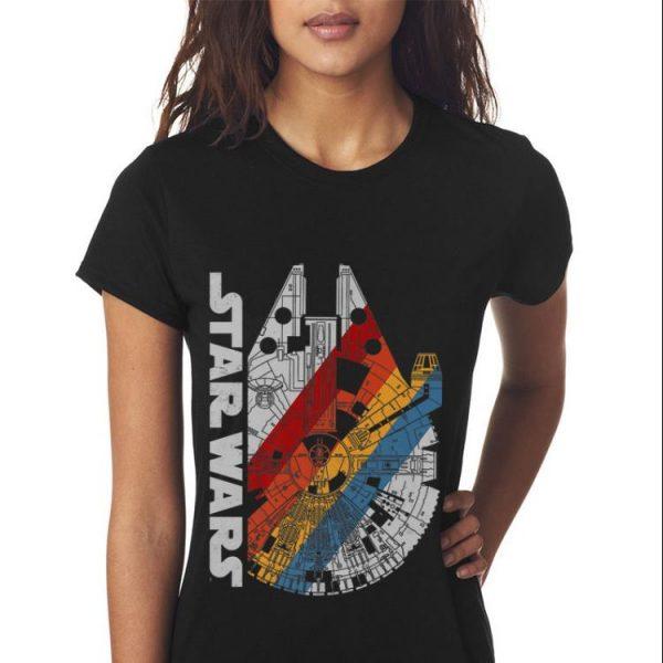 Star Wars The Millennium Falcon Retro Stripes sweater