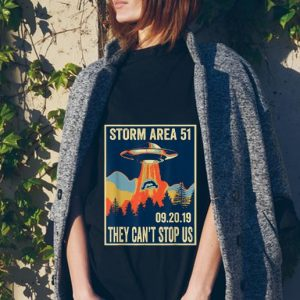 Storm Area 51 They Can't Stop Us UFO tank top