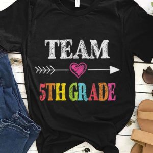 Team 5th Grade Back To School Teachers guy tee