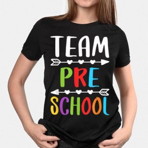 Team Preschool Teacher Back To School shirt