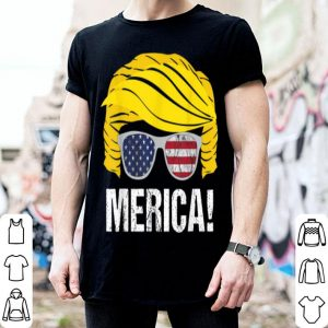 Trump 4Th Of July American Flag shirt