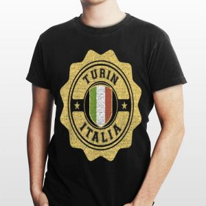Turin Italy Varsity shirt