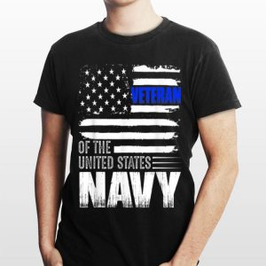 Us Navy Veteran Usa Flag shirt