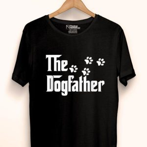 The Dogfather Dog Paws shirt