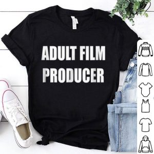 Awesome Adult Film Producer For Halloween Costume shirt