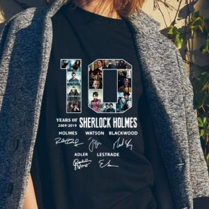 10 Years Of 2009-2019 Sherlock Holmes Signature sweater