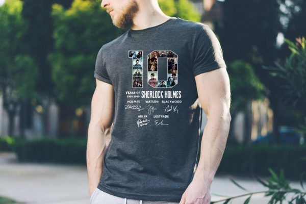 10 Years Of 2009-2019 Sherlock Holmes Signature sweater