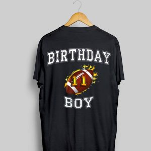 11th Birthday Boy USA Football shirt