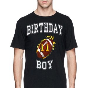 11th Birthday Boy USA Football shirt