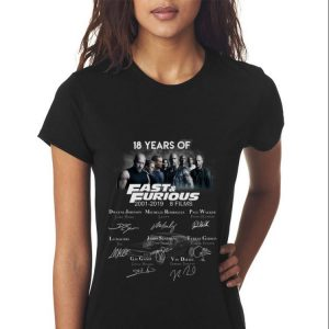 18 Years Of Fast And Furious Signature Character sweater 2