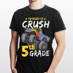 5th Grade Monster Truck Back to School Boys shirt