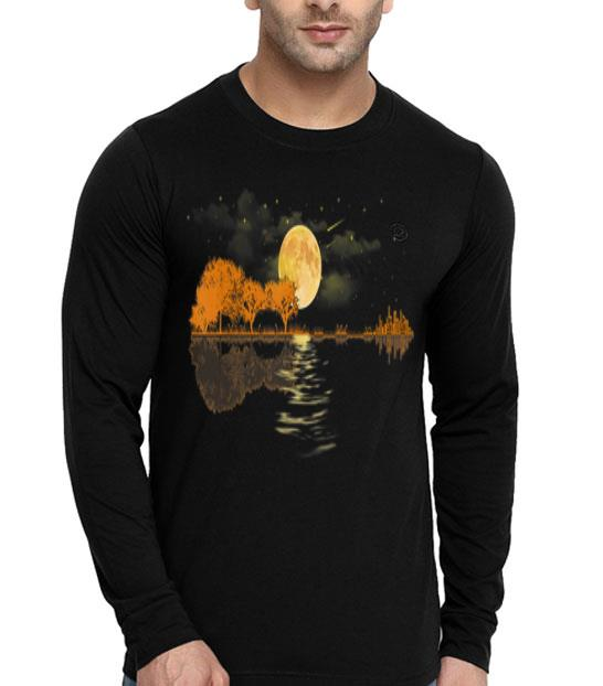 Acoustic Guitar Player Guitar Lake shirt