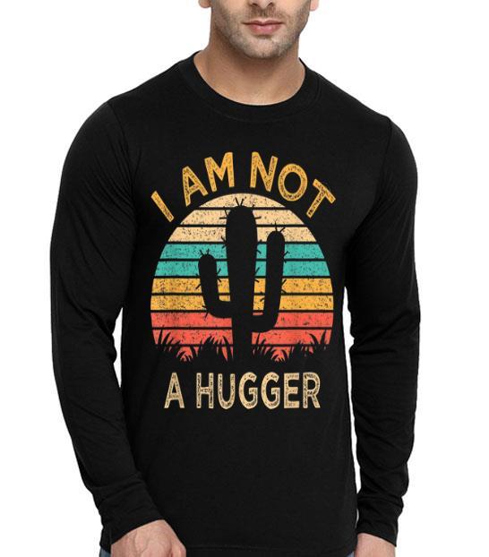 Am Not A Hugger Cactus Avoid Hugs shirt