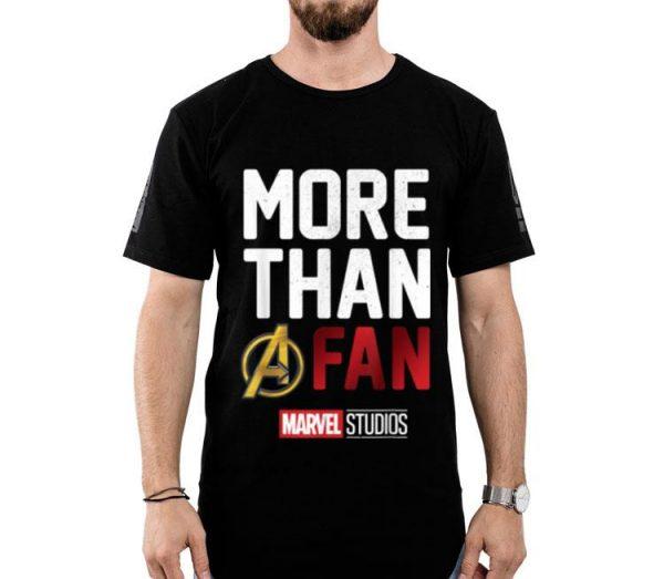 Avengers More Than A Fan Marvel Studio shirt