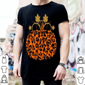 Awesome Animal Leopard Print Pumpkin Halloween Fall Autumn Gift shirt