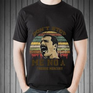 Awesome Don't Stop Me Now Freddie Mercury Signature shirt