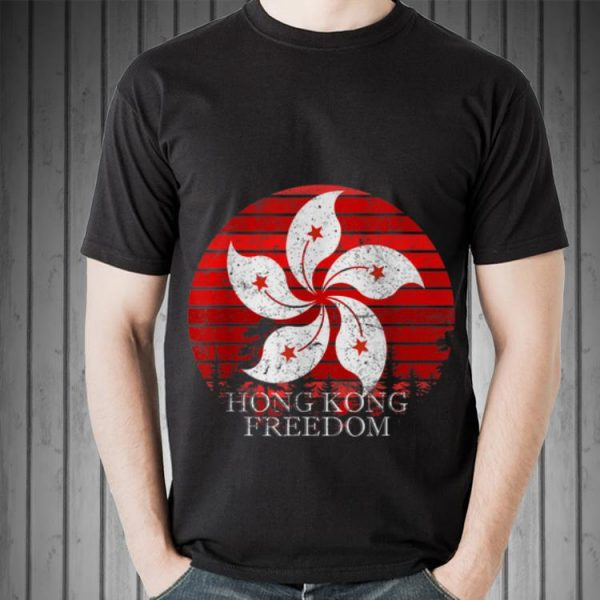 Awesome Hong Kong Freedom Sunset shirt