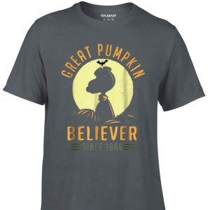 Awesome Peanuts Great Pumpkin believer since 1966 shirt