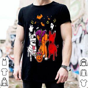 Beautiful Bull Terrier Happy Halloween, Cute Mummy Witch Demon Bull shirt