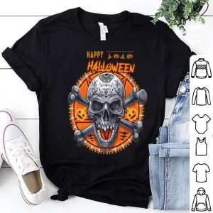 Beautiful Happy Halloween Skull shirt