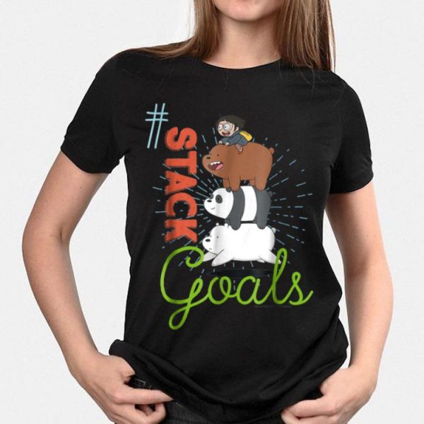 CN We Bare Bears This My Squad Patch shirt
