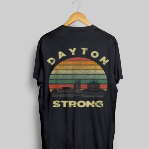 Dayton Strong Cityscape Ohio Vintage shirt