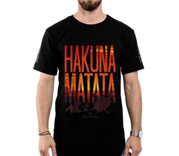 Disney Lion King Hakuna Matata Sunset shirt
