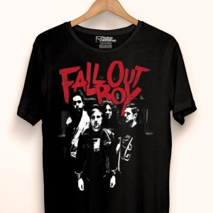 Fall Out Boy Punk Scratch shirt