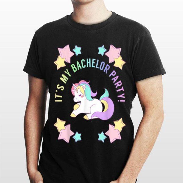 It's My bachelor Party Unicorn shirt