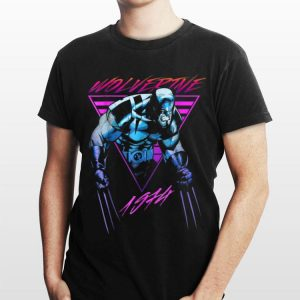 Marvel X-Men Wolverine Neon Retro shirt