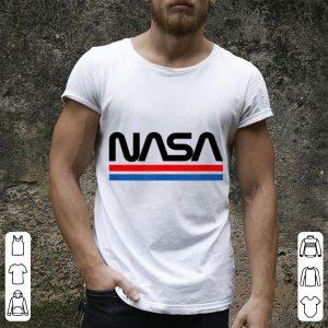 The Official NASA Worm Logo shirt 3