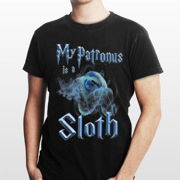 My Patronus Is A Sloth Wizard Magic shirt
