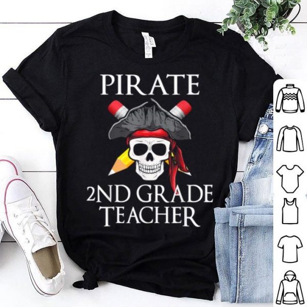 Nice 2nd Grade Teacher Halloween Party Costume Gift shirt