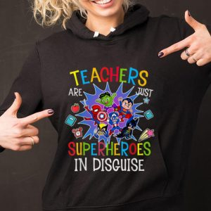 Original Teachers Are Just Superheroes In Disguise DC And Marvel shirt