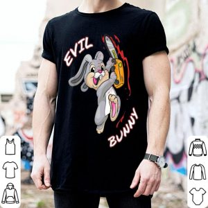 Premium Evil Bunny Halloween Funny Bad Rabbit Killer shirt
