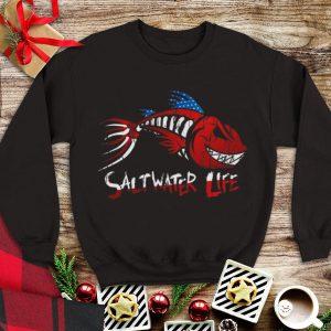 Saltwater Life fishbone American sweater