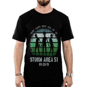 They Can't Stop All Of Us Storm Area 51 Alien shirt