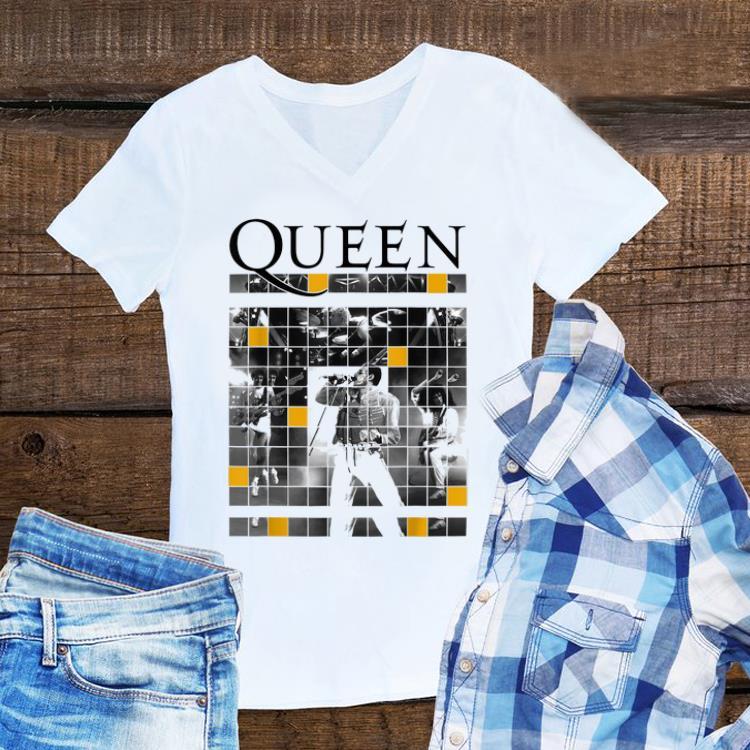 Top Queen Official Live Concert Blocks guy tee 1 - Top Queen Official Live Concert Blocks guy tee
