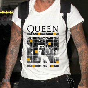 Top Queen Official Live Concert Blocks guy tee 1