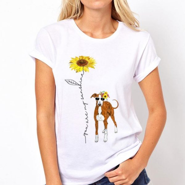 You Are My Sunshine Italian Greyhound Sunflower shirt