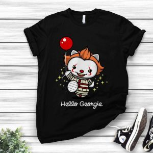 Pennywise Cat Hello Georgie IT Halloween Cats Lover shirt