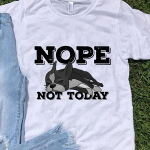 Pitbull Nope Not Today shirt